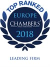Chambers Europe 2018 - Leading Firm